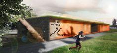 Centro de Juventude e Esportes - Projeto Vencedor do Concurso Copa Arquitectura de Architecture for Humanity / Urban Recycle Architecture.Studio