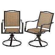 JCP - Sander's Bay Swivel Rocker Chairs - Set of 2