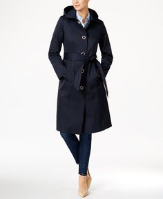 180.00$  Buy here - http://vizrk.justgood.pw/vig/item.php?t=44w1p7m28380 - Hooded Water-Resistant Trench Coat