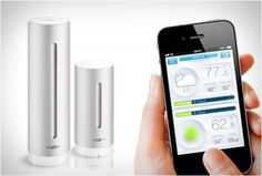 NETATMO | PERSONAL WEATHER STATION - http://www.the-tech-blog.com/netatmo-personal-weather-station/