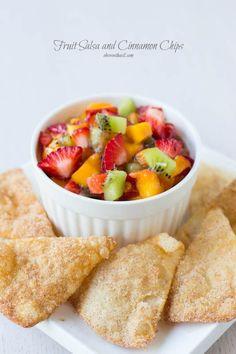 Fruit Salsa...it even looks delicious.