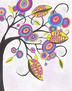 Lollipop tree