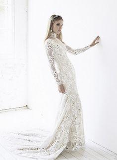wedding dresses with long sleeve