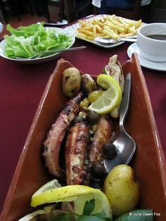 Delicious octopus, Portuguese style