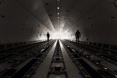 Boeing 777 freighter main deck