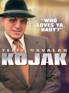 Kojak est une série télévisée américaine en 118 épisodes de 48 minutes et 7 épisodes de 90 minutes et diffusée du 24 octobre 1973 au 18 mars 1978 sur CBS. Puis une sixième saison fut diffusée du 2 novembre 1989 au 7 avril 1990 sur ABC. En France, la série a été diffusée du 8 janvier 1975 au 10 décembre 1978 sur Antenne 2 et rediffusée sur La Cinq à partir du 1er juin 1986. La sixième saison inédite sera diffusée du 29 janvier 19921 au 29 février 1992 sur La Cinq.