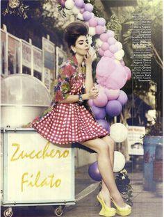 le leggi del mercato: valériane le moi by signe vilstrup for vanity fair italia no.14 11th april 2012