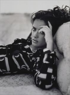 Year Taken: 1996 Photographer: Ruven Afanador CS: Salma Hayek poses for the magazine US Weekly