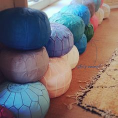 maisonluxe.poufs - Want one in every colour like ice-creams