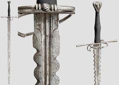 Flamberge-style bastard sword