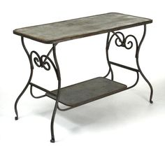 Iron Table By Zentique