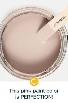 Blush Pink Paint, Pastel Paint Colors, Warm Paint Colors, Interior Paint Colors, Paint Colors For Home, Room Colors, Wall Colors, House Colors, Painting Tips
