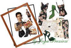 """""""Dolce & Gabbana 2013 Women's Collection by Joya Preziosi"""" by joyapreziosi on Polyvore"""