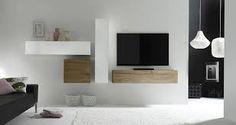 """Résultat de recherche d'images pour """"meuble tv accroché au mur"""""""