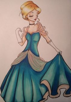 Cinderella by AmelSugar.deviantart.com on @deviantART