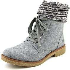 Rocket Dog Temecula Women Dress Boots ($65) ❤ liked on Polyvore featuring shoes, boots, grey, gray ankle boots, short boots, grey ankle boots, faux boots and grey bootie