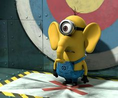 Minion + elephant is mini - phant