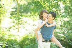 エンゲージメントフォトを近所の公園とご自宅で 入籍届の記念撮影 | 結婚式の写真撮影 ウェディングカメラマン寺川昌宏(ブライダルフォト)