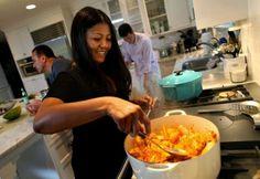 marja in her kitchen