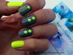 Neonowe ćwieki od EDbeauty-Profesjonalne ozdoby do paznokci