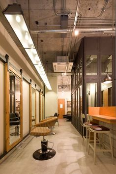 Ki Se Tsu Hair Salon / iks design - look at the ceiling