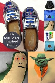 These projects combine two of my favorite things – handmade and Star Wars. Check out these 16 Star Wars crafts that are out of this world.