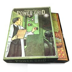 Power Grid // Price: $50.95 & FREE Shipping //  We accept PayPal and Credit Cards.    #gameronboard #boardgame #cardgame #game #puzzle #maze #toys #chess #dice #kendama #playingcards #tilegames