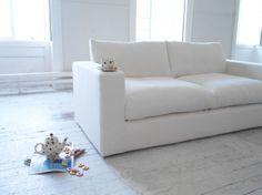 Stella three seat sofa in Chalk £1,195 http://www.sofa.com/shop/sofas/stella#130-HTCCHK-0-0