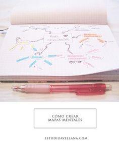 Como crear mapas mentales #bulletjournal #innovacion #ideas