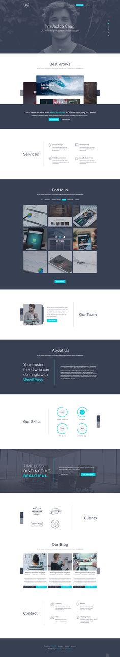 JC - One Page Best Portofolio PSD Template • Download ➝ https://themeforest.net/item/jc-one-page-best-portofolio-psd-template/18297884?ref=pxcr
