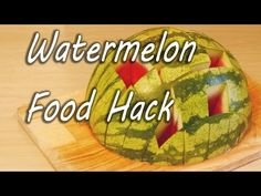 How to Eat a Watermelon - YouTube