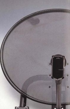 Perforated Metal Satelite Dish  Perforated steel is extremely versatile and applies itself to a variety of applications such as balustrade infill panels, railings infill panels, acoustics and sound proofing, security screens, louvres and ventilation, and air conditioning grilles.    #sheet #steel #perforatedmetal #mesh #sheets #metal #handrail #perforated Security Screen, Perforated Metal, Shop Fittings, Metal Mesh, Sound Proofing, Stage Design, Railings, Conditioning, Screens