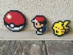 Pokemon aller perler perles par CraftyMoniLove sur Etsy http://www.helpmedias.com/pokemongo.php