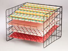 My Mind's Eye - Wire Scrapbook Paper Rack - 12 x 12 at Scrapbook.com