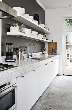 24 best open shelves images kitchen dining kitchen units rh pinterest com