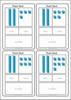 Kindergarten Place Value Worksheets. Kindergarten Place Value Worksheets. Differentiated First Grade Place Value Worksheets 1st Grade Activities, 1st Grade Worksheets, Kindergarten Math Worksheets, Homeschool Kindergarten, Place Value Worksheets, Math Place Value, Place Values, Math Tutor, Math Numbers