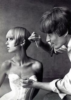 Vidal Sassoon the greatest in fine haircutting