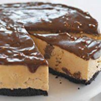 No-Bake Peanut Butter-Toblerone Cheesecake by Kraft Recipes