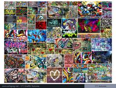 Graffiti Textures Collection