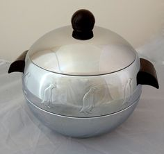 Ice Bucket--West Bend--Penguin--Mid Century Bar Ware--Bar Accessories by ClassicEndearments on Etsy