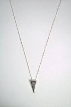 Vega Pendant Silver Necklace