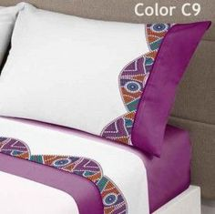 This Pin was discovered by Gül Bedroom Crafts, Home Decor Bedroom, Bed Sheet Sets, Bed Sheets, Bed Runner, Diy Sewing Projects, Bathroom Design Small, Scatter Cushions, Sofa Covers