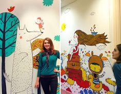 Julia  Grigorieva and her art work