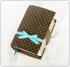 mini scripture case.  super cute in corduroy