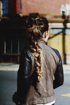 3 Fall Hair Tutorials. This Braid is amazing.