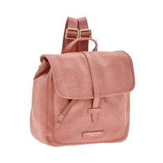 This leather 'Plume Soft' backpack from The Bridge features an elegant, practical design. Minimal and classy, it's the perfect accessory for a sporty outfit. Inner drawstring closure and outer flap with outer closure. Size 30X32X14 cm.