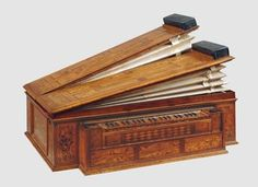 Orgelpositiv (Positiv Organ) in the Museum of Musical Instruments of the University of Leipzig