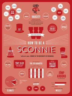 How To Be A Sconnie - by Amanda Braatz