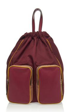 aea7e94521e Shop Carry All Nylon Backpack. This   Marni   backpack is rednered in nylon  and features two external pockets and a top handle.