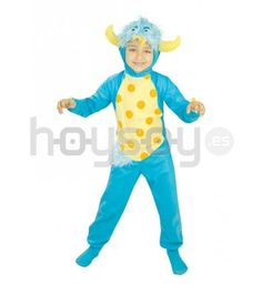 #Disfraz de monstruo inspirado en la película de Pixar Monstruos S.A #Disfraces #Carnaval